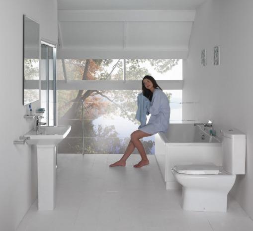 Banheiro  Espaço da Pati -> Tamanho Minimo De Banheiro Com Banheira