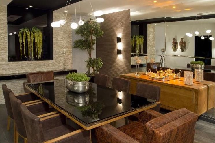 Decoração – Sala de Jantar Minimalista  Espaço da Pati