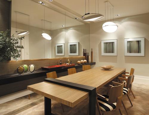 Sala De Jantar Da Rufato ~ Decoração – Sala de Jantar Minimalista – Espaço da Pati