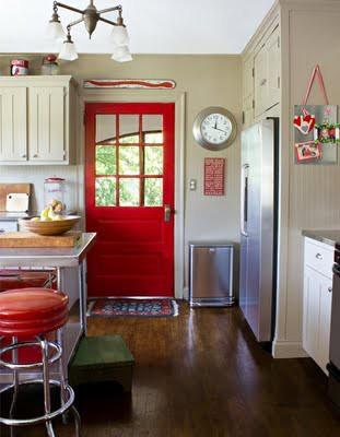Olha essa na cozinha!! Linda!