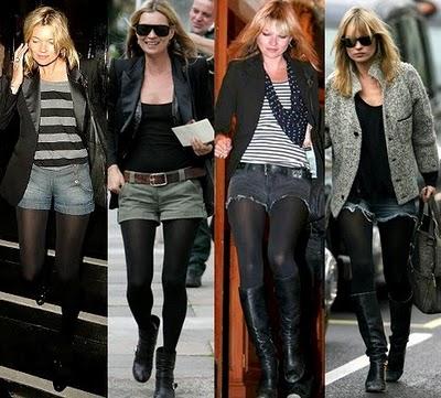 Shorts Jeans com Bota Montaria