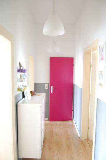 Adivinhem se não gostei dessa porta rosa.... hihihi
