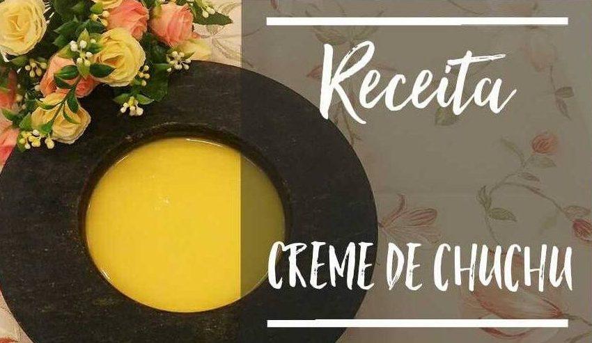 #Receita – Creme de Chuchu Low Carb